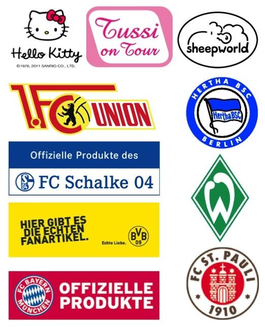 Marken bei Fanworld Berlin