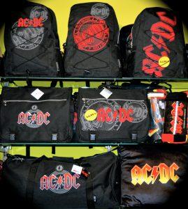 AC DC Taschen bei fanworld