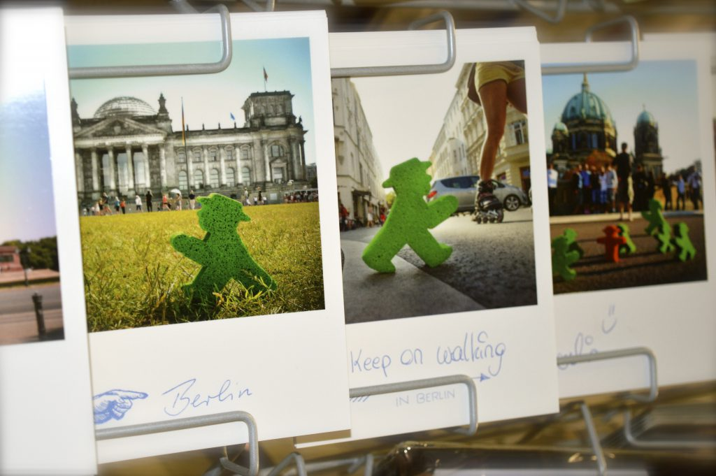 Ampelmann Postkarte bei fanworld