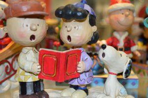 Snoopy Peanuts Weihnachtsfigur fanworld Berlin