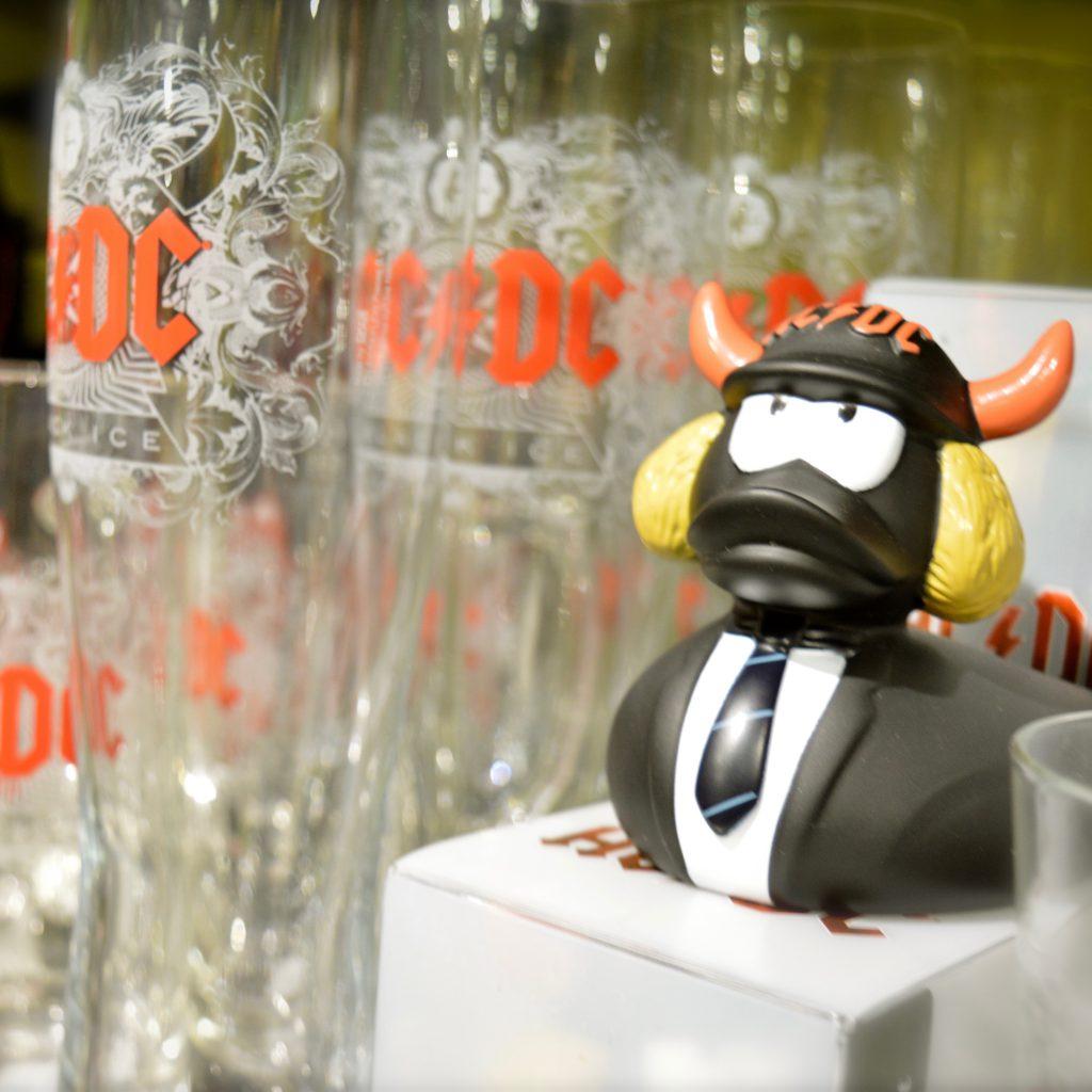 ACDC Badeente Glaser kaufen Berlin fanworld