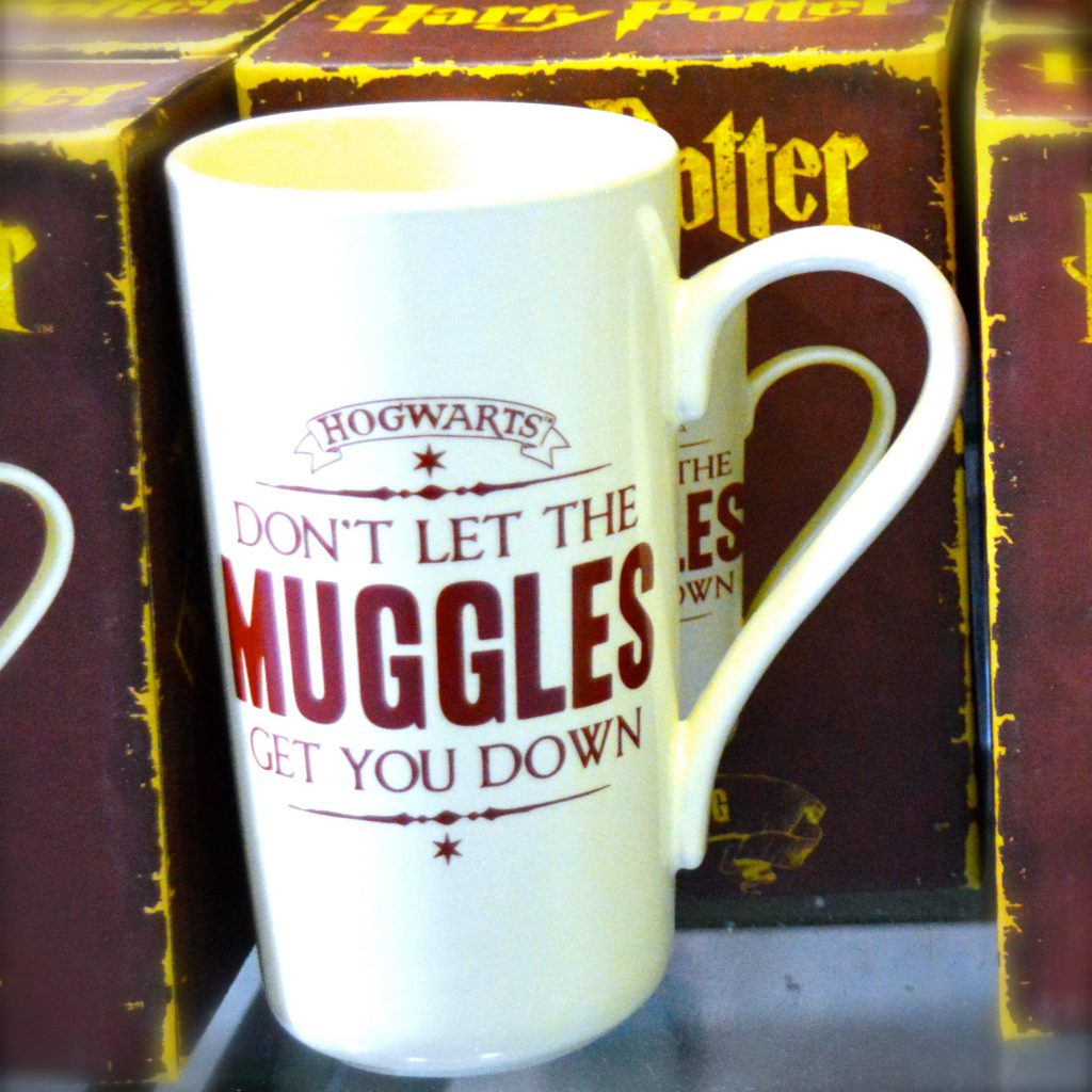 Harry Potter Tasse Muggles fanworld berlin