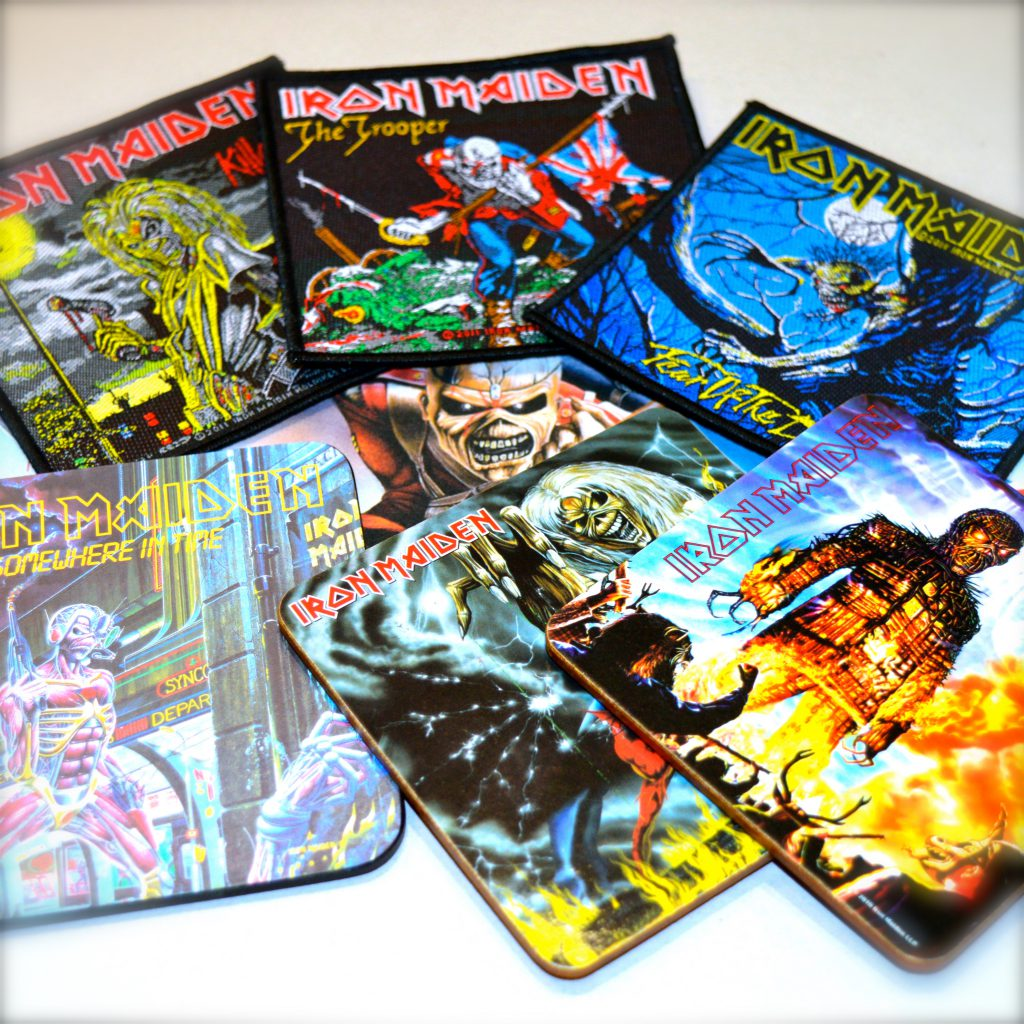 iron maiden untersetzer coaster fanworld berlin