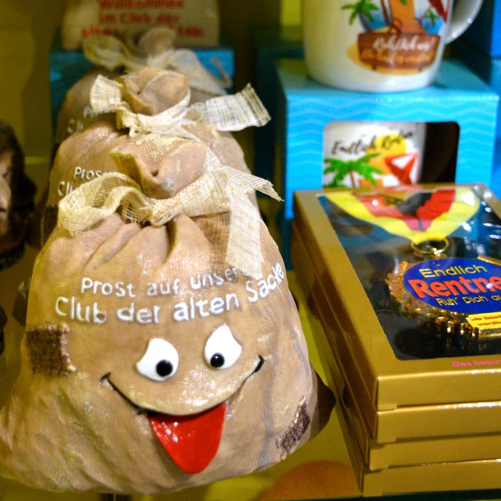 Rente Spardose Ruhestand Geschenke fanworld Berlin