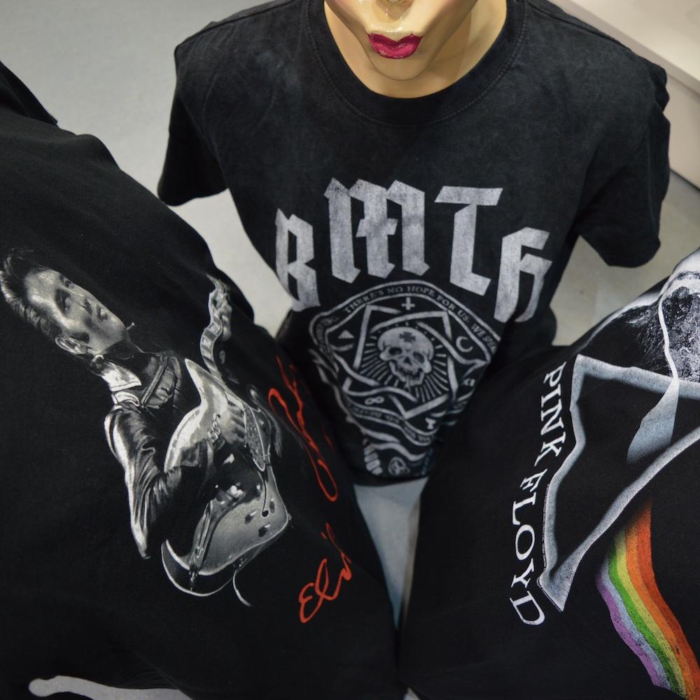 Elvis Presley BMTH Pink Floyd TShirts Berlin kaufen