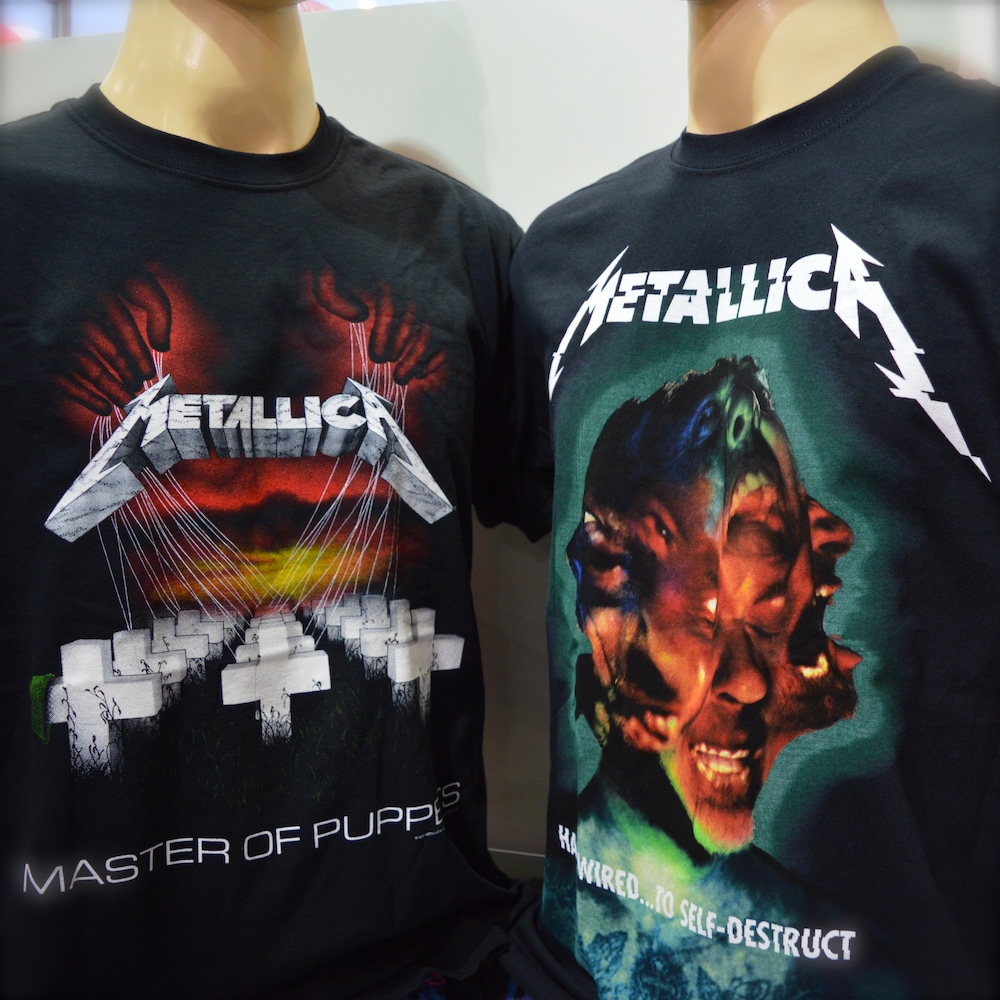Metallica TShirt Berlin fanworld kaufen