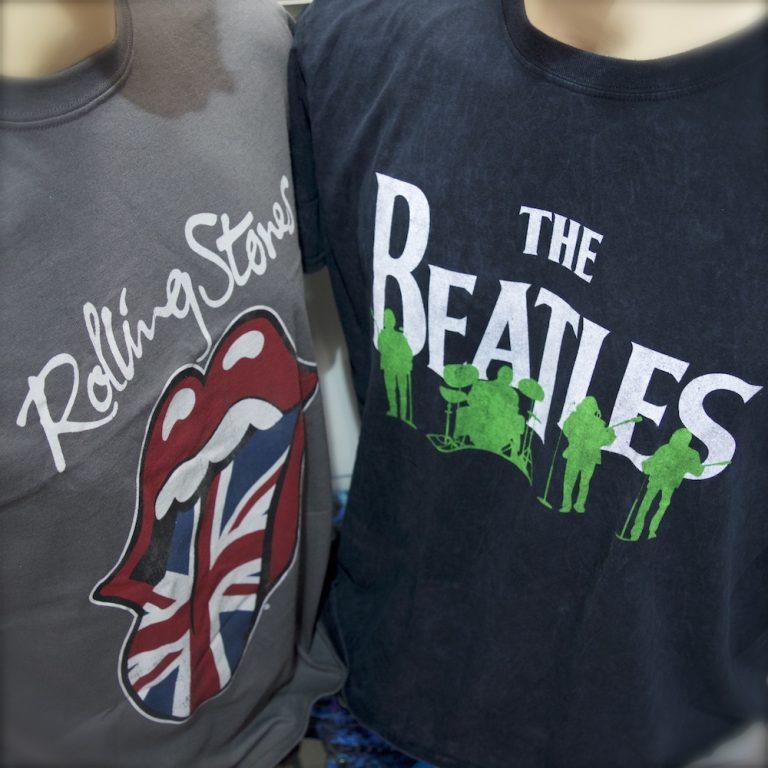 Rolling Stones Beatles TShirts Berlin kaufen