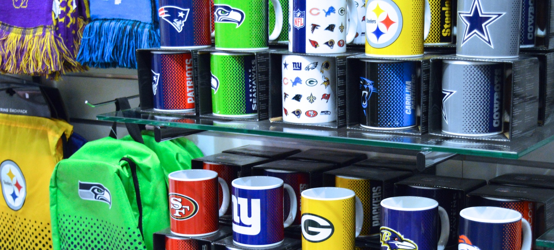 NFL Merchandise Artikel bei fanworld Berlin