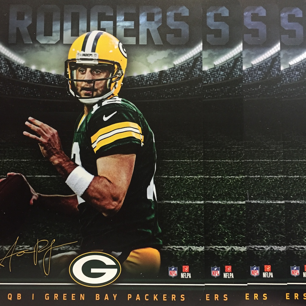 Green Bay Packers Locker Room Schild fanworld berlin