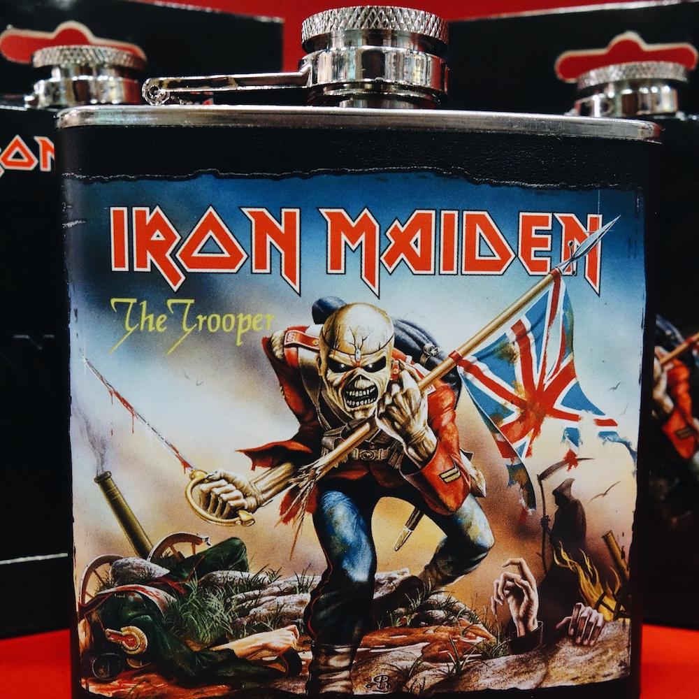 Iron Maiden Flachmann