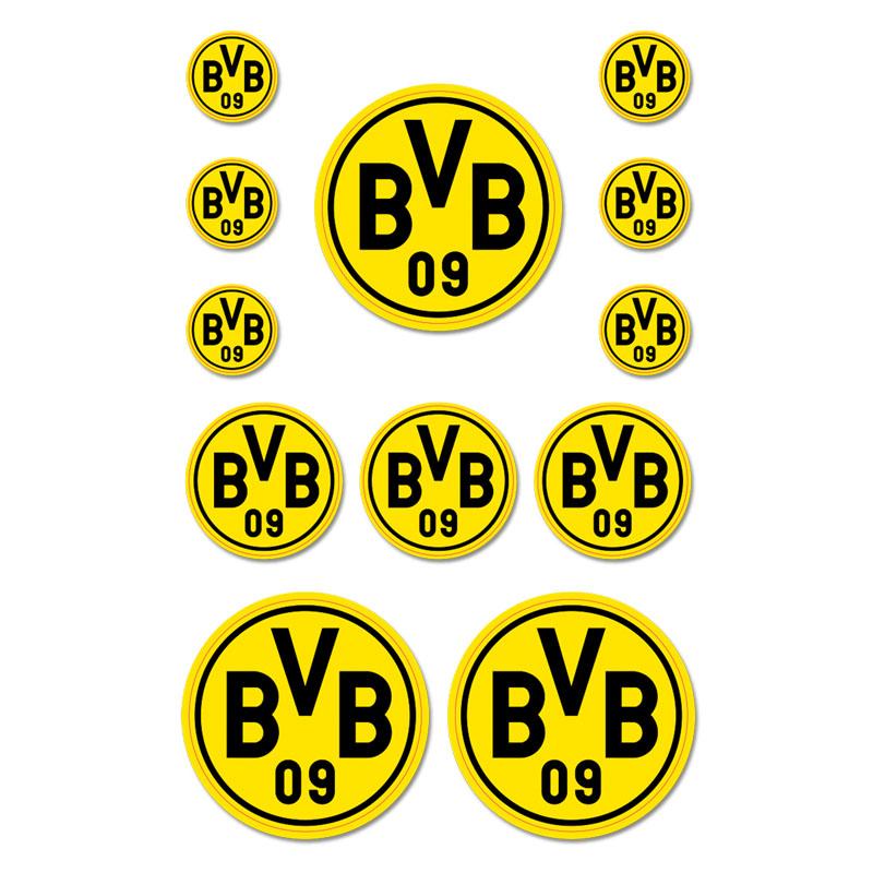 BVB Aufkleber Set