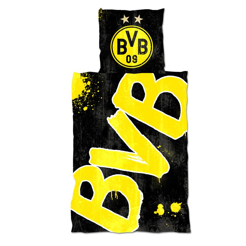 BVB Bettwäsche Set im Dunkeln leuchtend