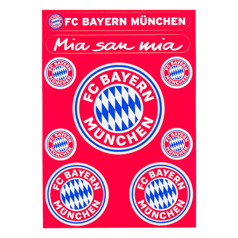 Bayern München Aufkleber Set