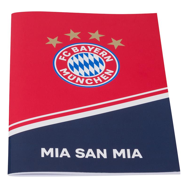 Bayern München Hausaufgabenheft