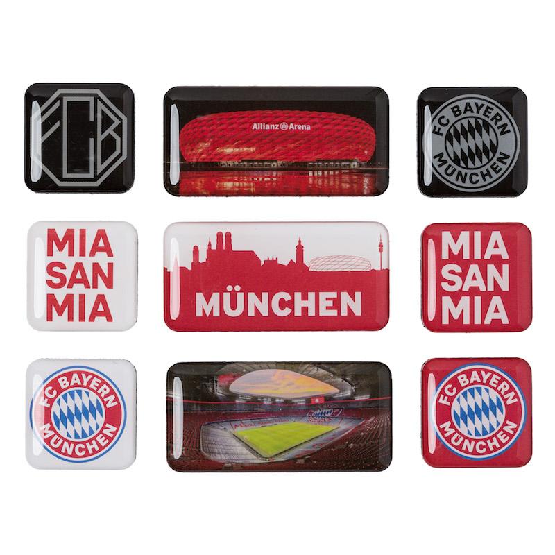 Bayern München Magnet Set