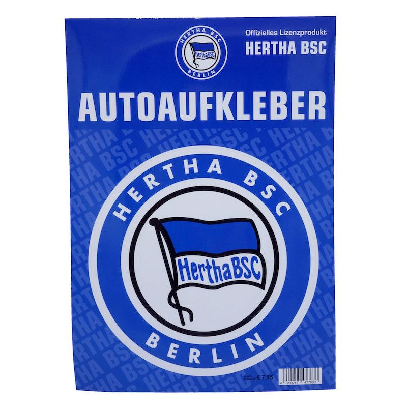 Hertha BSC Autoaufkleber