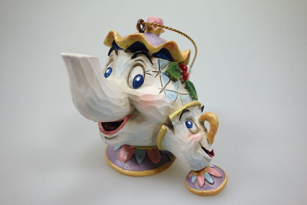 """Madame Pottine und Tassilo aus""""Die Schöne und das Biest"""" Disney Sammelfiguren"""