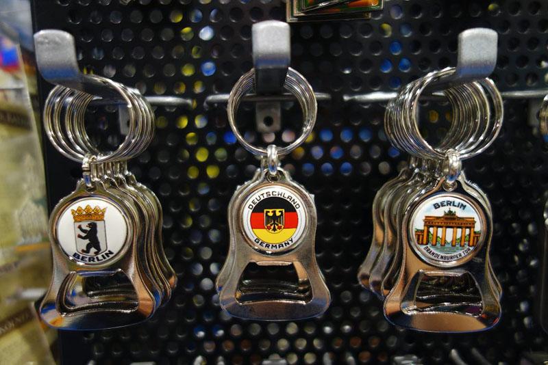 Berlin Schlüsselanhänger Flaschenöffner