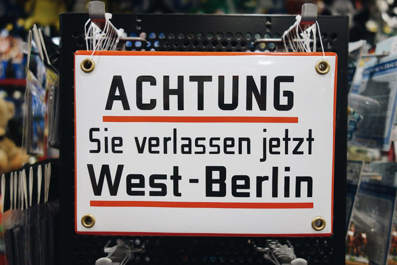 Berlin Straßenschild