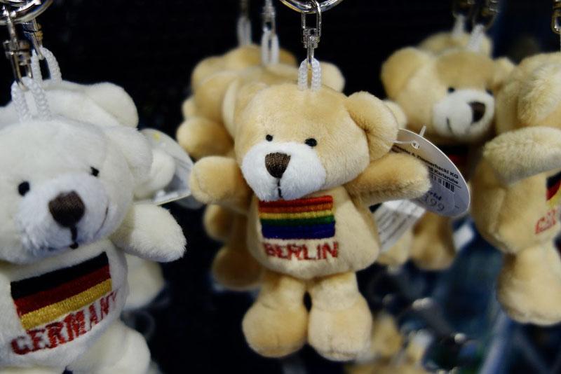Berlin Teddy Bär Schlüsselanhänger