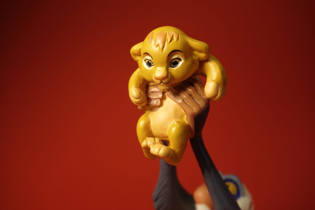 König der Löwen Figur in Berlin kaufen Enesco Simba