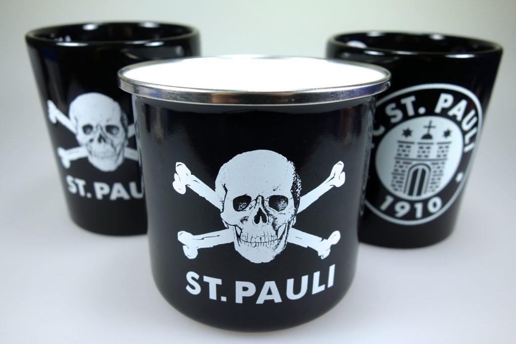St. Pauli Tassen Metall in Berlin kaufen