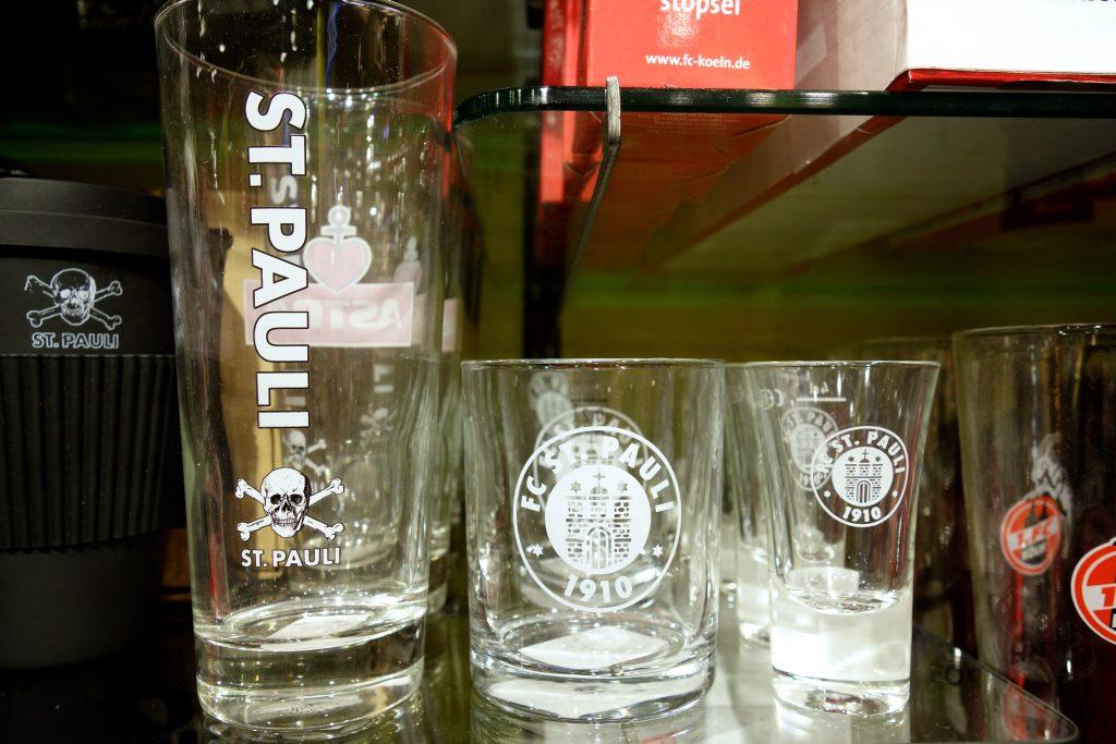 FC St. Pauli Glas Schnapsglas Bierglas in Berlin kaufen