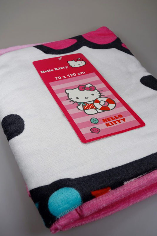 Hello Kitty Duschtuch