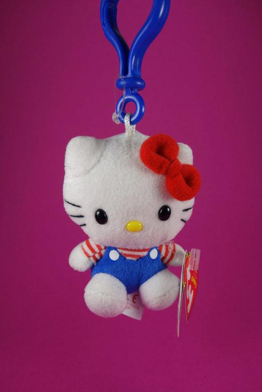 Hello Kitty Plüsch Schlüsselanhänger