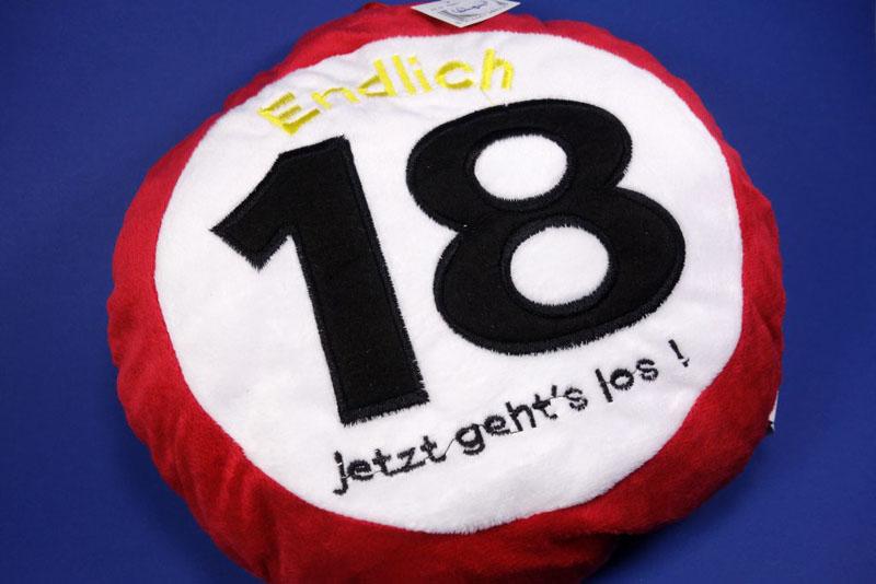 Geburtstagskissen 18