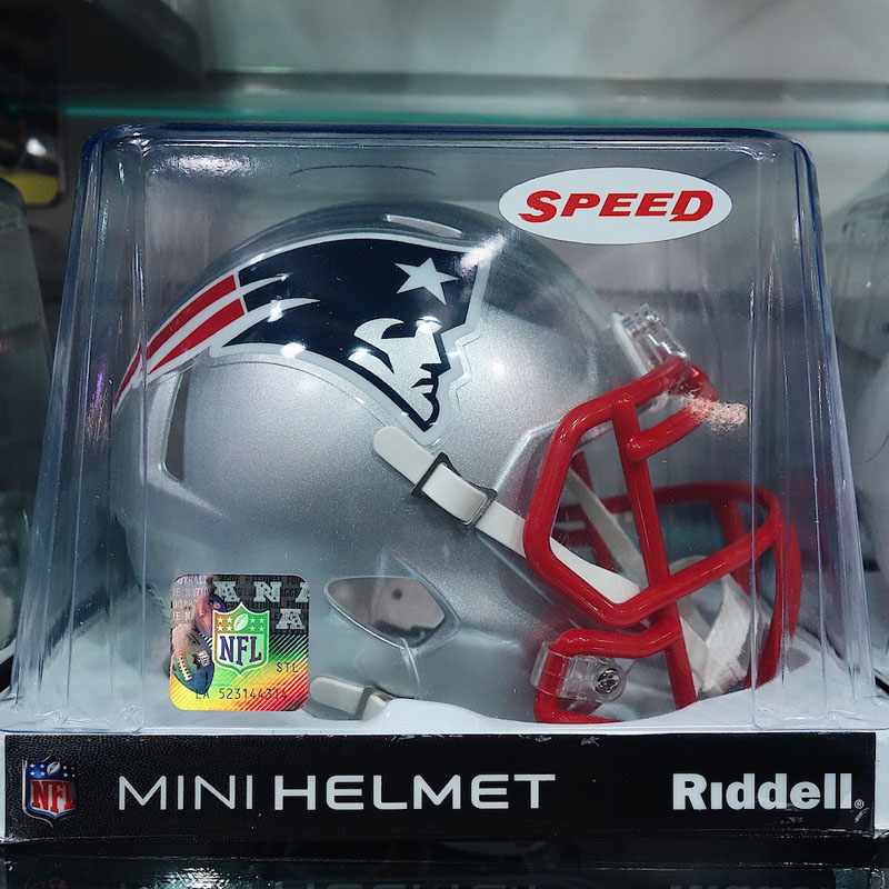 New England Patriots Mini Helm