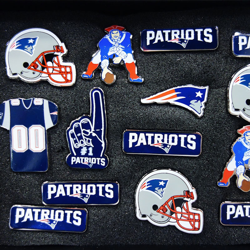 New England Patriots Pins