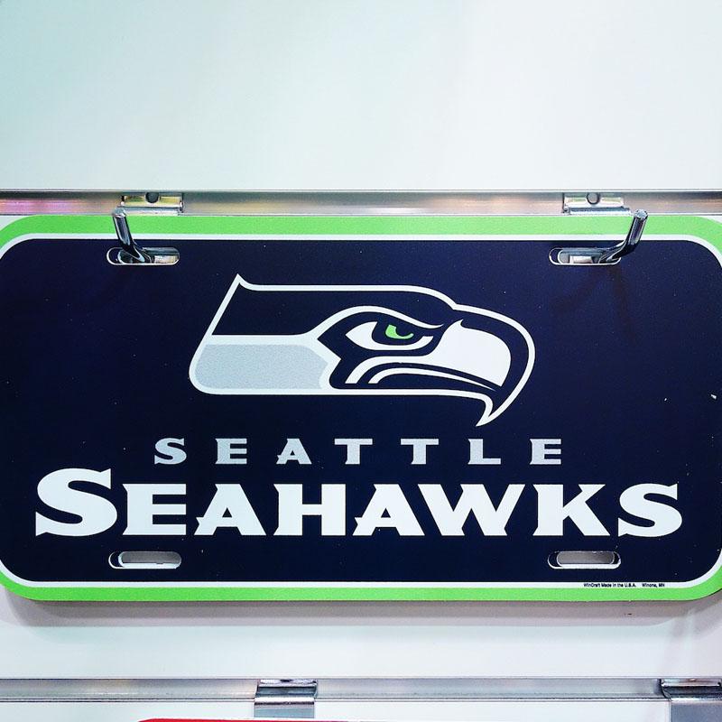 Seattle Seahawks Schild