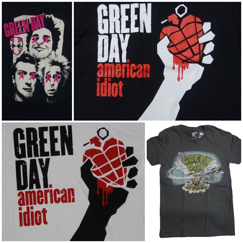 Green Day T-Shirts