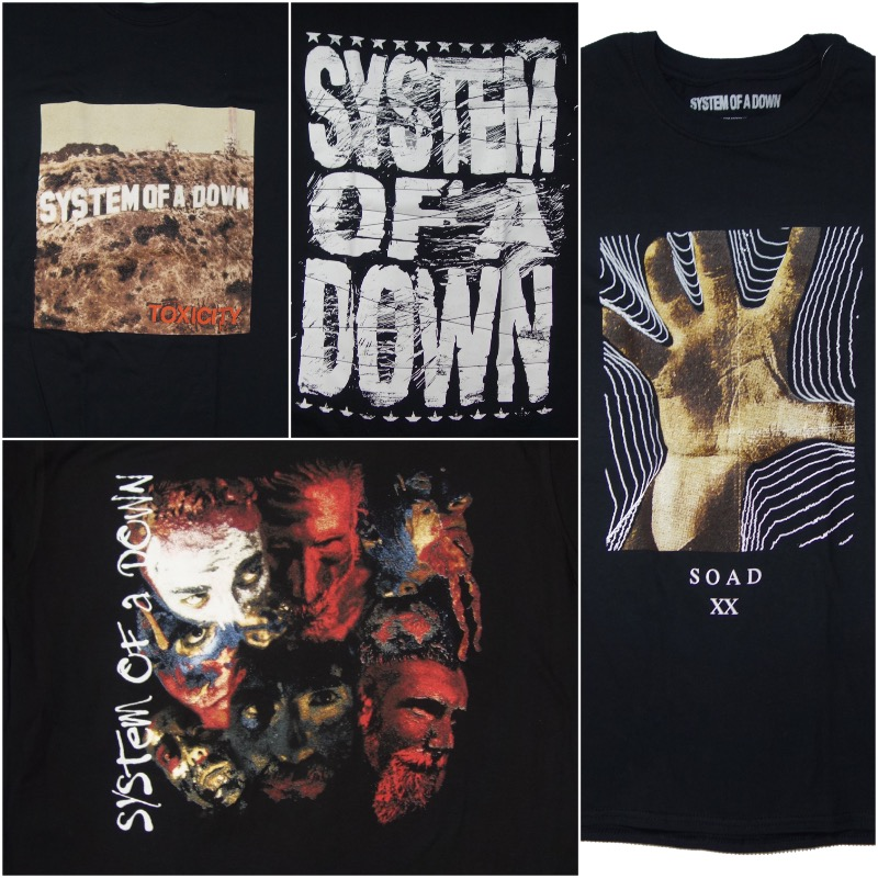 System of a Down T-Shirts