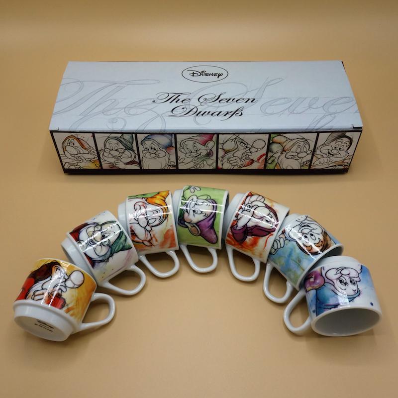 Espressotassenset 7 Zwerge