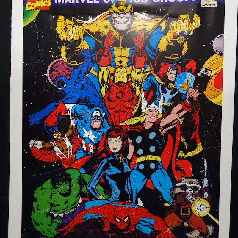 Poster Avengers Endgame Comic