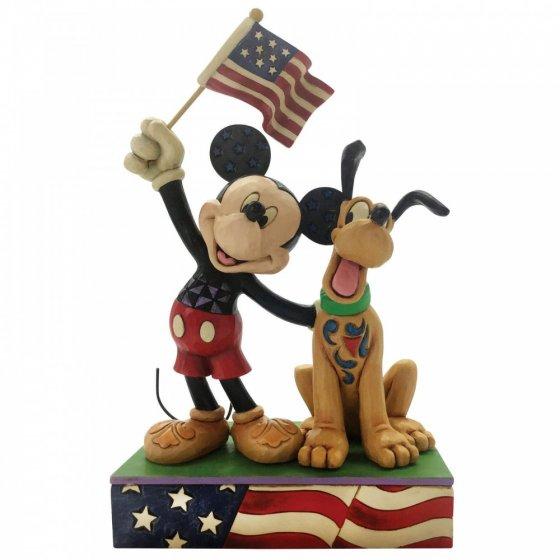 Sammelfigur Mickey Mouse und Pluto