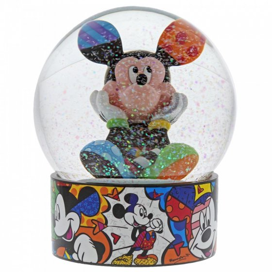 Sammelfigur Mickey Mouse Schneekugel
