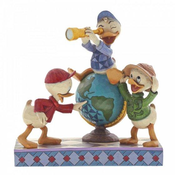 Sammelfigur Duck Tales, Tick, Trick und Track