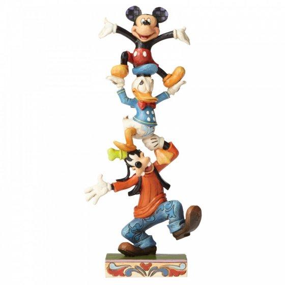 Sammelfigur Mickey, Donald und Goofy, Teetering Tower