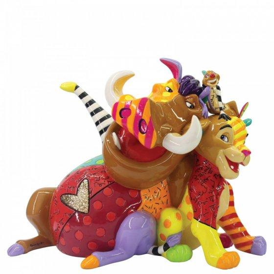 Sammelfigur Der König der Löwen, Simba, Pumba, Timon