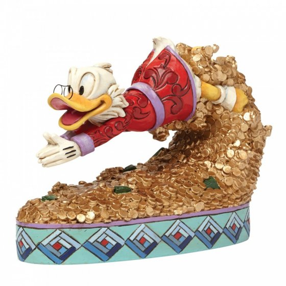 Sammelfigur Duck Tales, Dagobert Duck