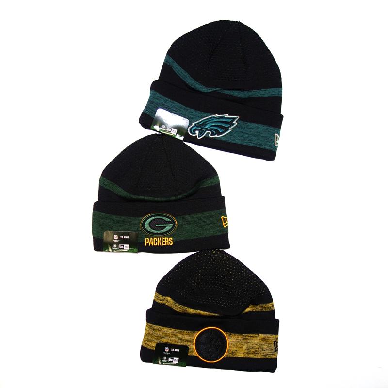 NFL Mütze Beanie Eagles, Packers, Steelers