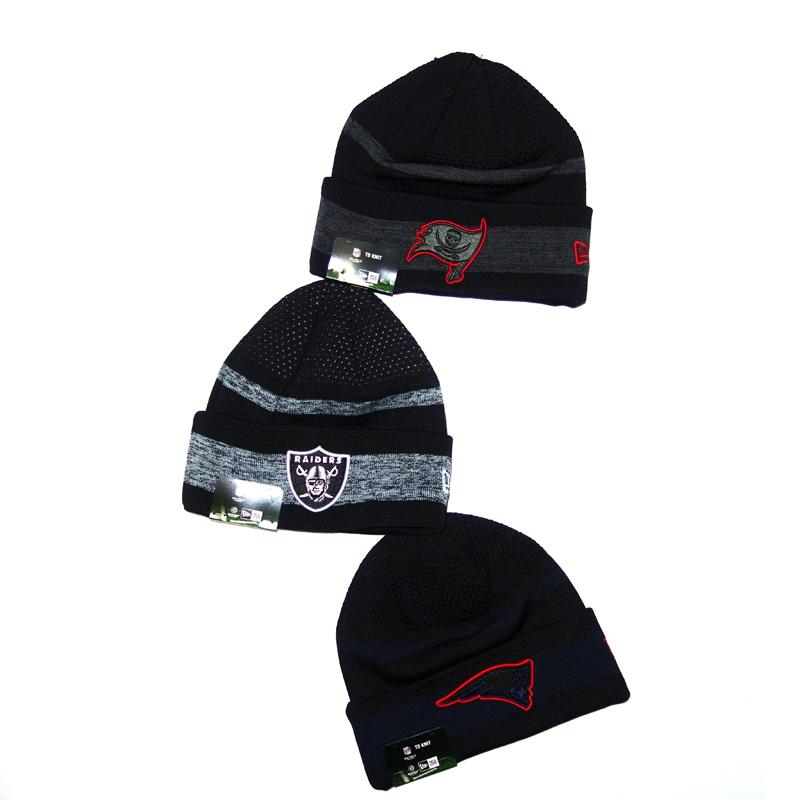 NFL Mütze Beanie Buccaneers, Raiders, Patriots