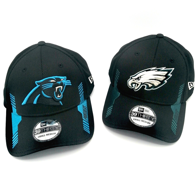 NFL Caps Panthers, Eagles